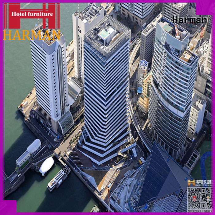 Harman durable hotel furniture suppliers factory direct supply for apartment