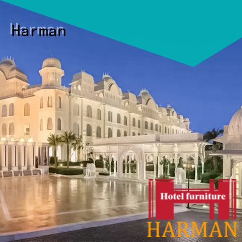 Harman motel furniture factory for 5 star hotel