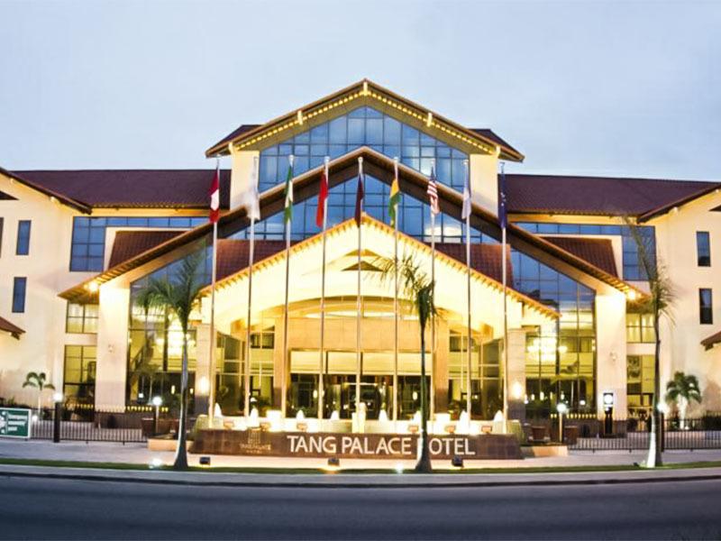 TANG PALACE HOTEL IN GANA  (Gana Africa)