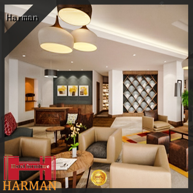 Harman best price hotel lobby furniture best supplier for comercial