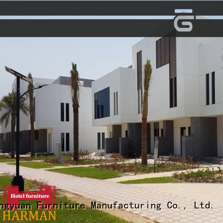 Harman latest hotel style furniture wholesale for 5 star hotel