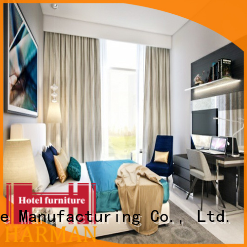 Harman customized contract furniture for hotels from China comercial use