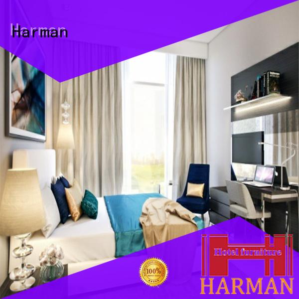 Harman best price studio apartment furniture supplier for hotel