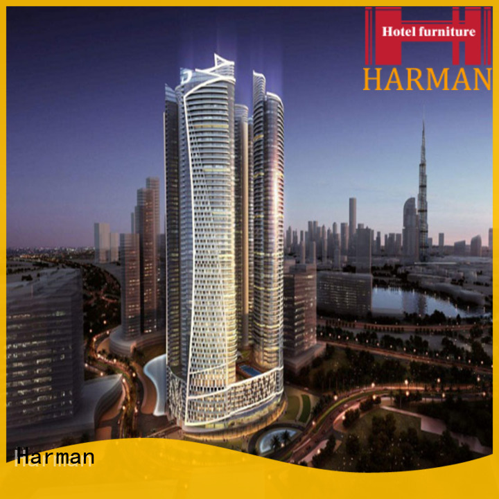 Harman customized hotel apartment furniture directly sale for apartment