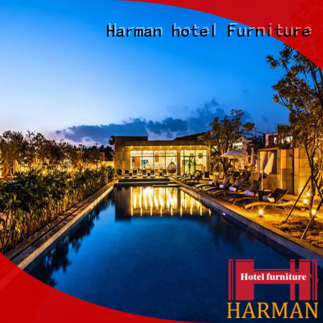 Harman high end hotel furniture from China for resort