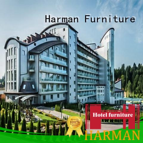 Harman custom hotel furniture supplier for resort