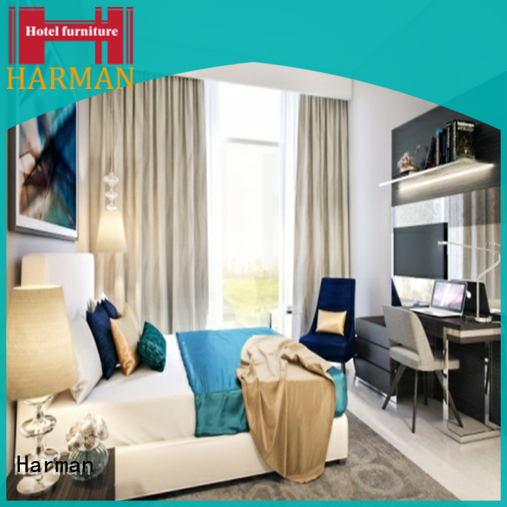 Harman furniture for hotel rooms with good price for villa
