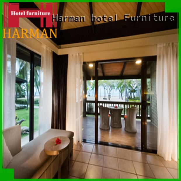 Harman worldwide hotel sofa supply for villa