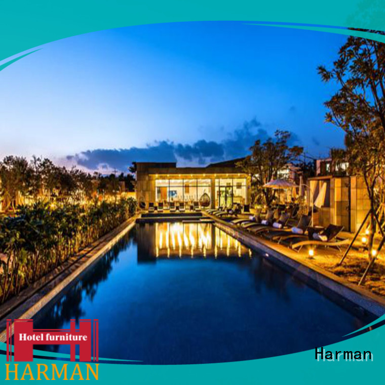 Harman quality customized five star hotel furniture supplier for resort