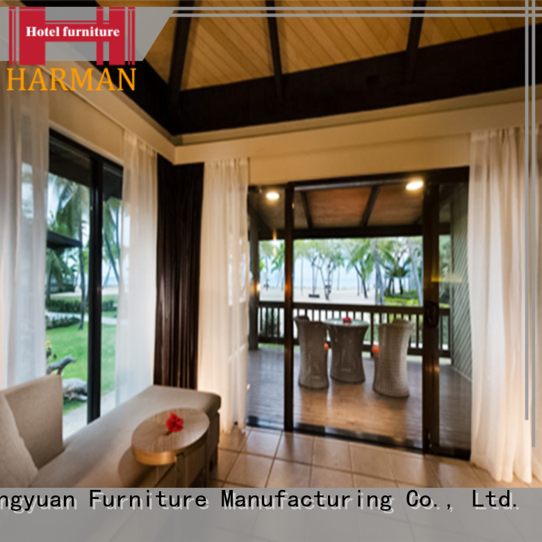 cheap hotel bedroom furniture china factory for villa