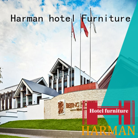 Harman durable hotel room furniture china wholesale for resort
