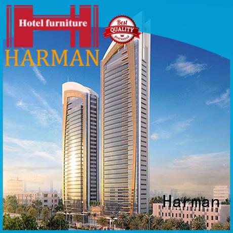 Harman worldwide king size bedroom suite custom comercial use
