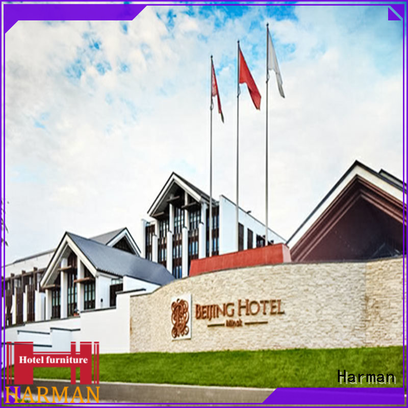 Harman hotel furniture supply from China for comercial