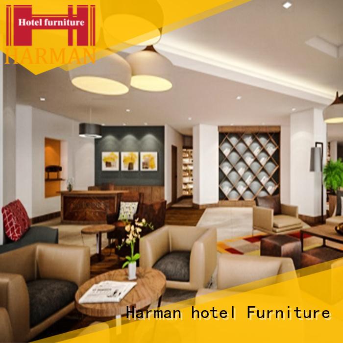 Harman hotel bedroom furniture sets manufacturer comercial use