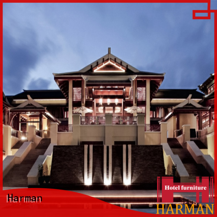 Harman high quality hotel room furniture design manufacturer for apartment