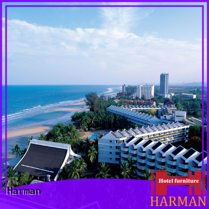 Harman latest customized 5 star hotel furniture with good price for decoration