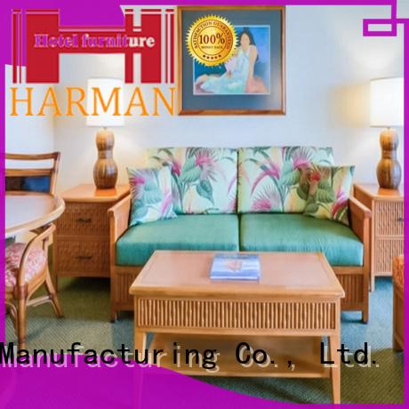 Harman factory price custom made hotel furniture bulk buy for hotel