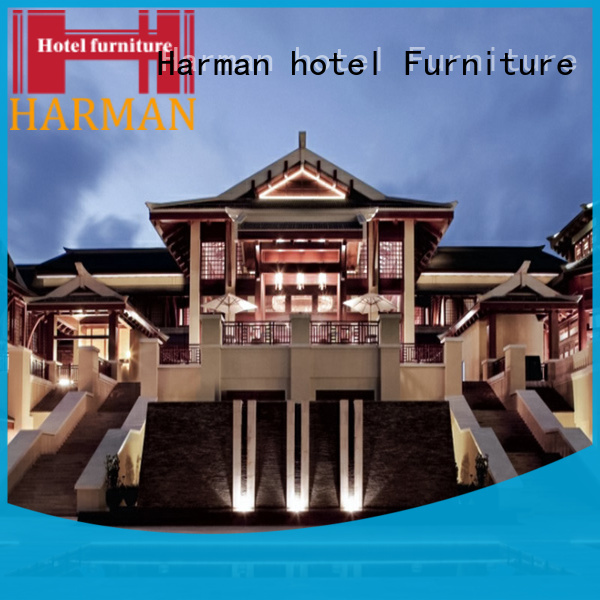 Harman quality fixed furniture manufacturer for hotel