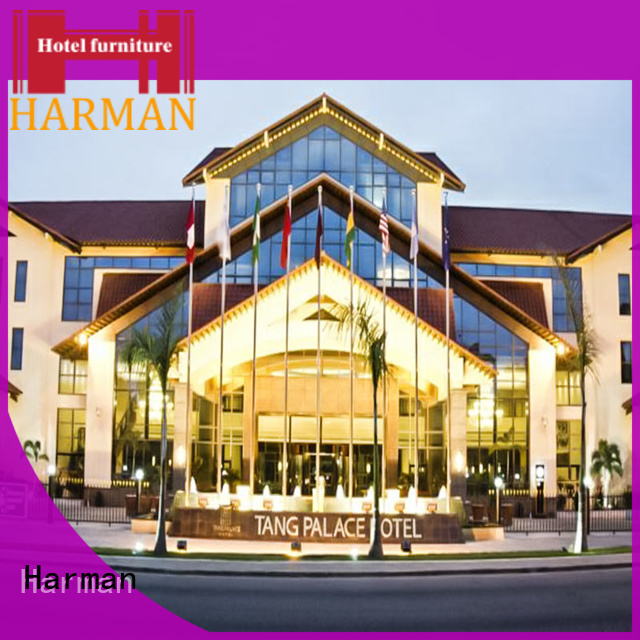 Harman high quality king bedroom suites company for hotel